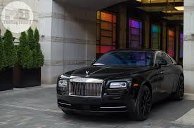 rolls royce chrome drake u0027s black on black rolls royce wraith gtspirit