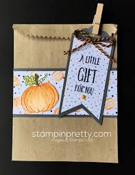 halloween jar of haunts gift bag stampin u0027 pretty