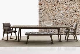 chaise table b b table gio b b italia outdoor design by antonio citterio