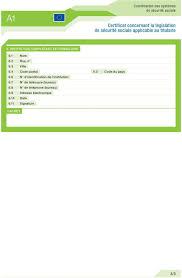 bureau securité sociale certificat concernant la législation de sécurité sociale applicable
