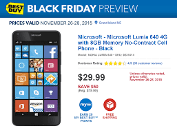 best wireless cell black friday deals black friday deal at u0026t lumia 640 only 29 99 commitment free