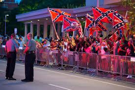 Flag Of Oklahoma Obama Confederate Flag Protesters Greet President In Oklahoma Time