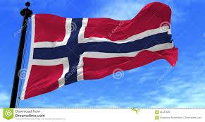 Flag Im Norwegen Flagge Im Wind Stock Video Bild Von Hintergrund 94427609