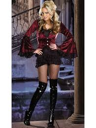 womens gorgeous button lace vampire halloween costume carnival