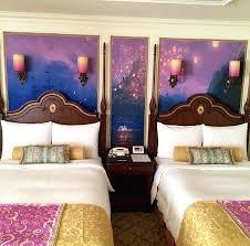 disney bedroom decorations tangled guest room hotel disney