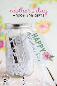 cheap mothers day gifts minute s day gift ideas jar gifts