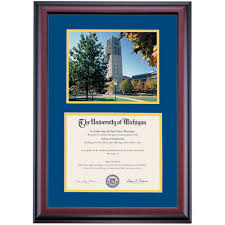 diploma frames of michigan diploma frames diploma display ocm