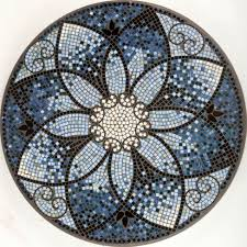 Mosaic Bistro Table Mosaic Bistro Table For Your Outdoor Furniture Knf Amalfi Mosaic