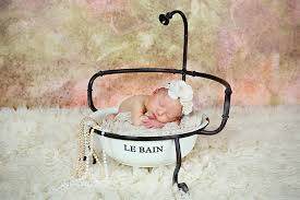 Baby Bathtub Prop Newborn Photography Newborn Posing Ideas Baby Photography Little