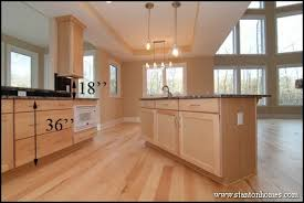standard kitchen island height standard kitchen counter height for raleigh new homes