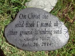 personalized garden stones engraved scripture stones personalized garden psalms family