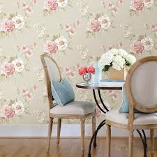 chesapeake keighley pink floral wallpaper 3112 002759 the home depot