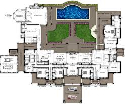 large house plans floor plan plans soweto style layout storey garage blueprint