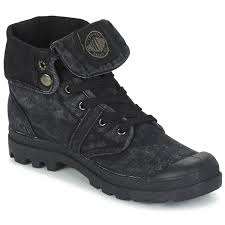 buy boots us ankle boots boots us baggy black metallic palladium boots
