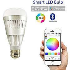 Changing Color Light Bulbs Flux Bluetooth Smart Led Light Bulb Smartphone Controlled