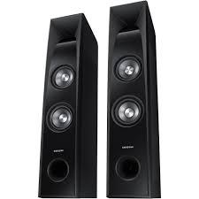 samsung wireless home theater system samsung tw j5500 350w 2 2 channel sound tower tw j5500 za b u0026h
