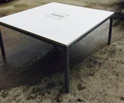 Square Boardroom Table Executive White 160cm X 160cm Square Meeting Room Boardroom Table