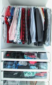 organizing shirts in closet 7 tips for completely organizing your closet and dresser the