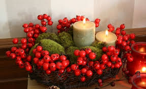 christmas centerpieces for tables diy christmas candle centerpieces 40 ideas for your table