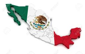 3d map of mexico stock photo picture and royalty free image