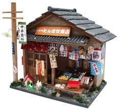 amazon com billy handicraft doll u0027s house kit japan showa series