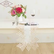luxury damask table runner longshow 30x150cm luxury jacquard damask two tone colour grape lace