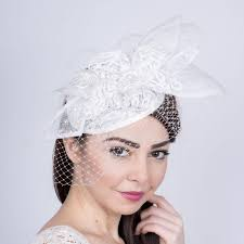 lace fascinator wedding lace fascinator s hat wedding headpiece