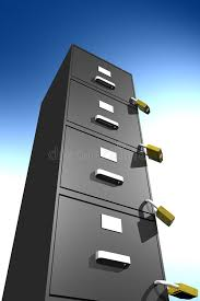 how to lock a filing cabinet without a lock locked file cabinet 3d stock illustration illustration of record
