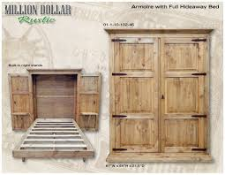 armoire w full hideaway bed hideaway bed armoires and mattress