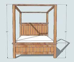 Best 25 Farmhouse Bed Frames by Best 25 Farmhouse Canopy Beds Ideas On Pinterest Beach Style