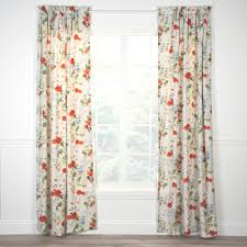curtains patterned floral striped solid