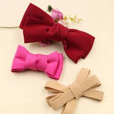 craft ribbon wholesale wholesale 20pcs ribbon silk fabric knot bows patch sticker craft
