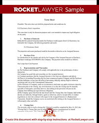 Term Sheet Template Term Sheet Template Sle Term Sheet Rocket Lawyer