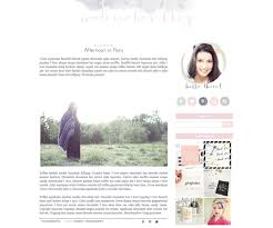 check out premade blogger template watercolor by bellaluluink on