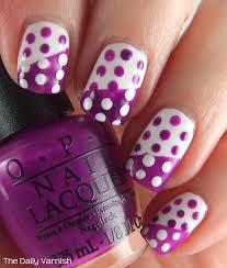 opi polka dot nail art u2013 the daily varnish