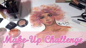 Challenge Up Your Nose Make Up Challenge
