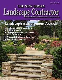 the new jersey landscape contractor winter 2014 2015 by gail