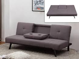 dossier canapé canapé clic clac en tissu gris prague