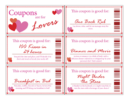 love coupon bookprintabledigitalstocking