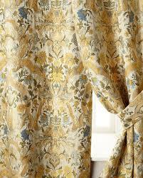 Yellow Drapery Luxury Curtains U0026 Curtain Hardware At Neiman Marcus