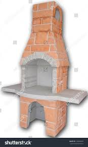 Outdoor Brick Fireplace Grill by Outdoor Fireplace Barbecue Grill Made Bricks Stock Photo 138584450