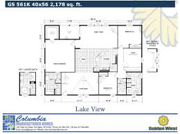 home floorplans columbia manufactured homes gold series