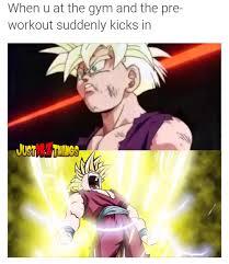 Dbz Gym Memes - dbz gym meme tumblr