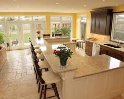kitchens with bars and islands best 25 raised kitchen island ideas on curved kitchen