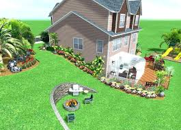 design of home interior backyard landscaping slope hilly backyard for your home