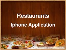 appli cuisine android restaurant application for ios android windows mobile phones