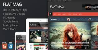 templates v1 blogger flat mag responsive magazine blogger template free download v1 2