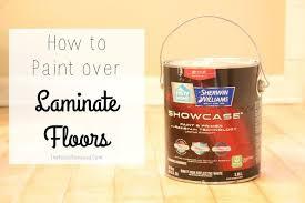 how to paint laminate flooring hometalk
