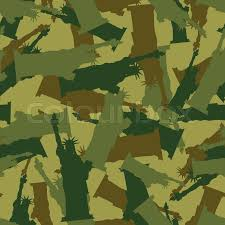 army pattern clothes statue of liberty military camouflage american national security