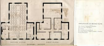 Floor Plan For Classroom 1852 Plan For The U201cschool House U201d The Lawrenceville